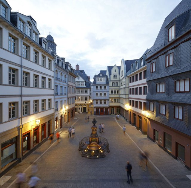 Die Frankfurter Altstadt - Dom Römer
