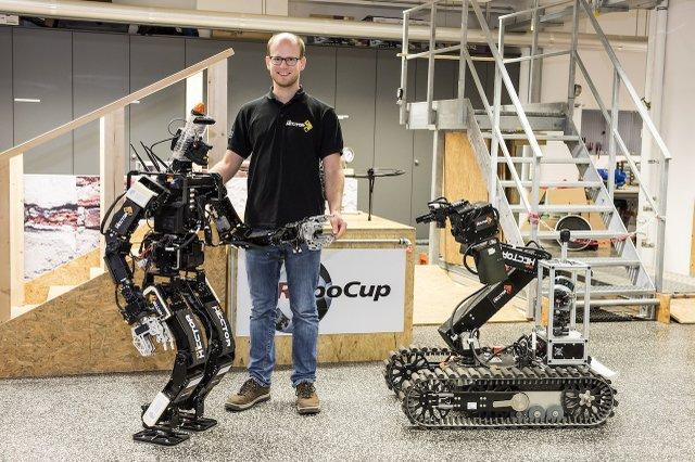 Team Hector entwickelt, Roboter, Prototypen, TU Darmstadt