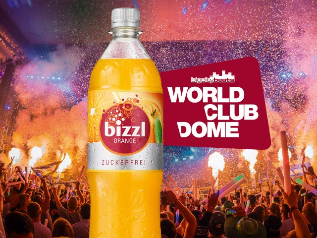 bizzl, Orange, Zuckerfrei, BigCityBeats, WORLD CLUB DOME