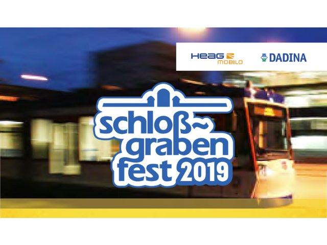 Schlossgrabenfest erhält ÖPNV-Ticket