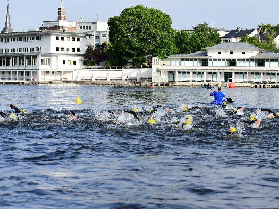Der Merck-Heinerman-Triathlon