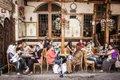 Syrien, Damaskus: Café Noufara.