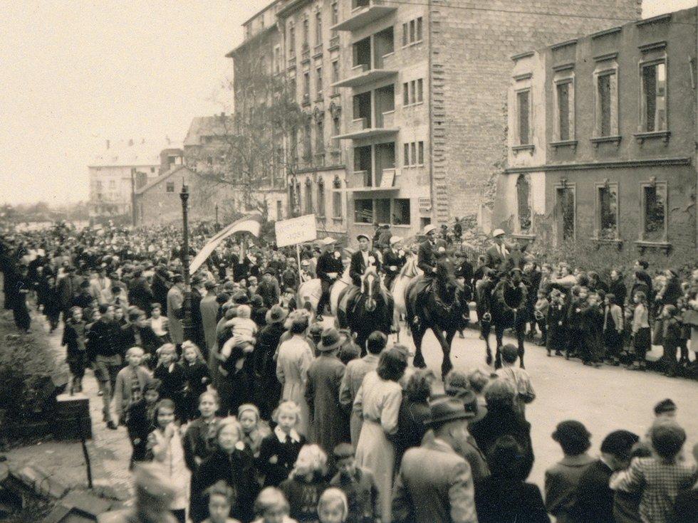 Umzug Martinsviertel 1951