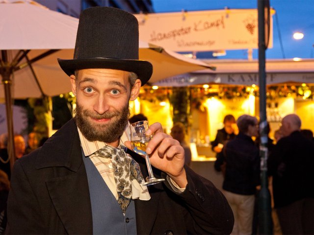 Darmstädter Weinfest - Der Datterich ist unterwegs
