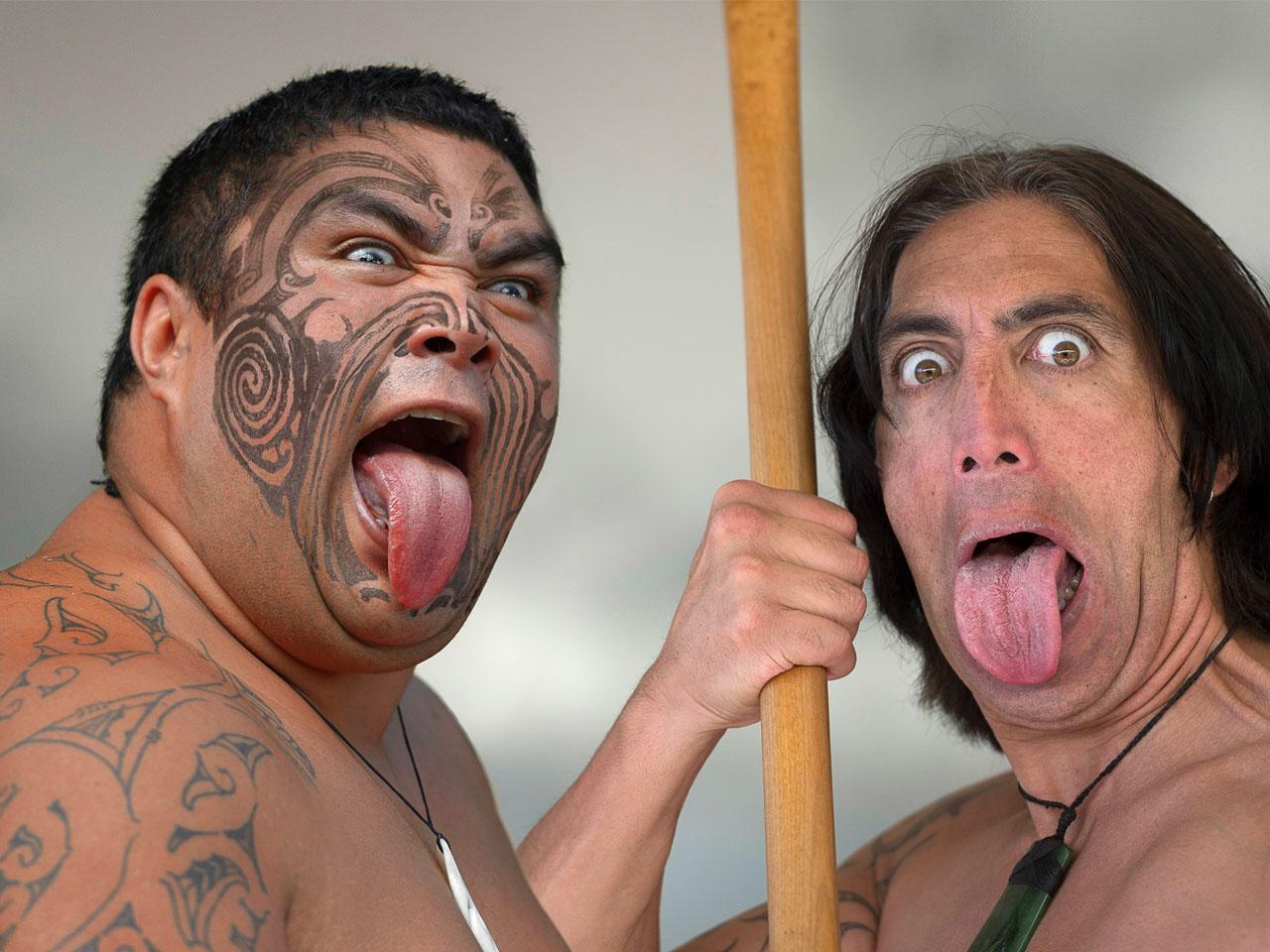 Amusing Maori Krieger Decoration Of 200 Tage Am Schönsten Ende Der Welt