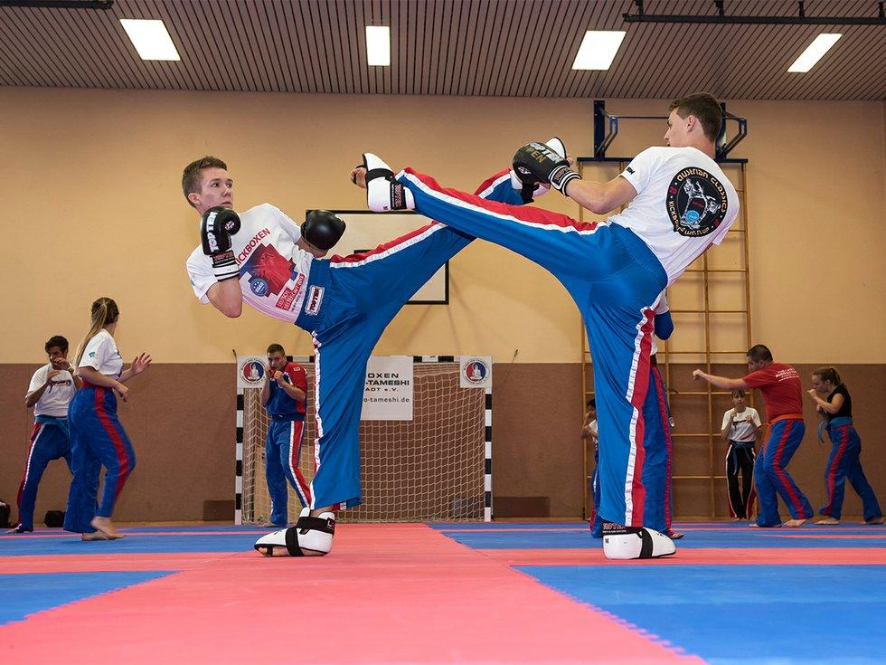 Deutscher Meister im Kickboxen: Jaro Meffert