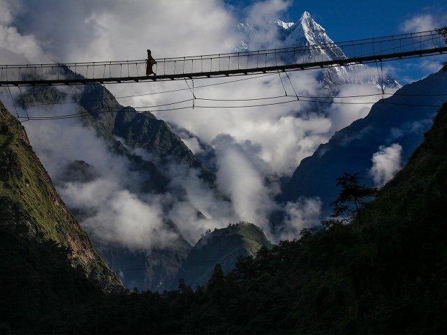 Pilgern in Nepal nach Muktinath