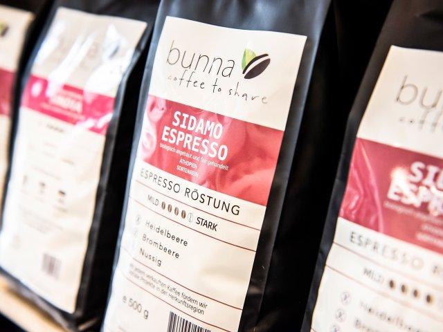 Bunna. Coffee to share