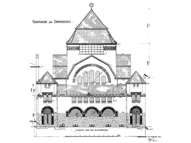 Synagoge Bleichstraße (Georg Wickop) 1906