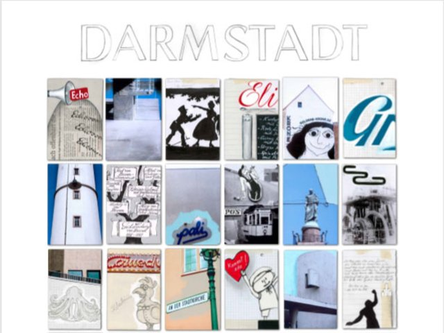 Das Darmstadt-Plakat