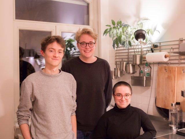 Björn, Silas, Aurora