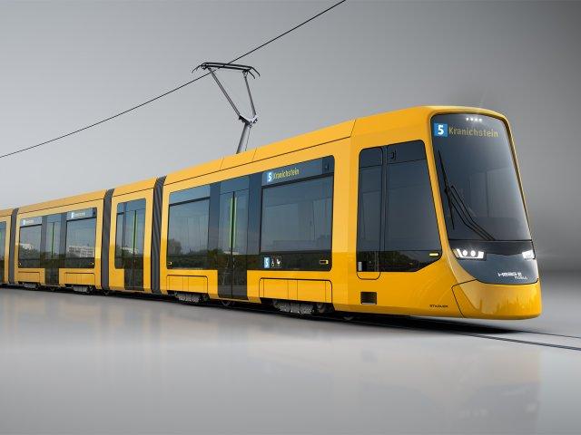 Designstudie zur neuen ST15-Bahn