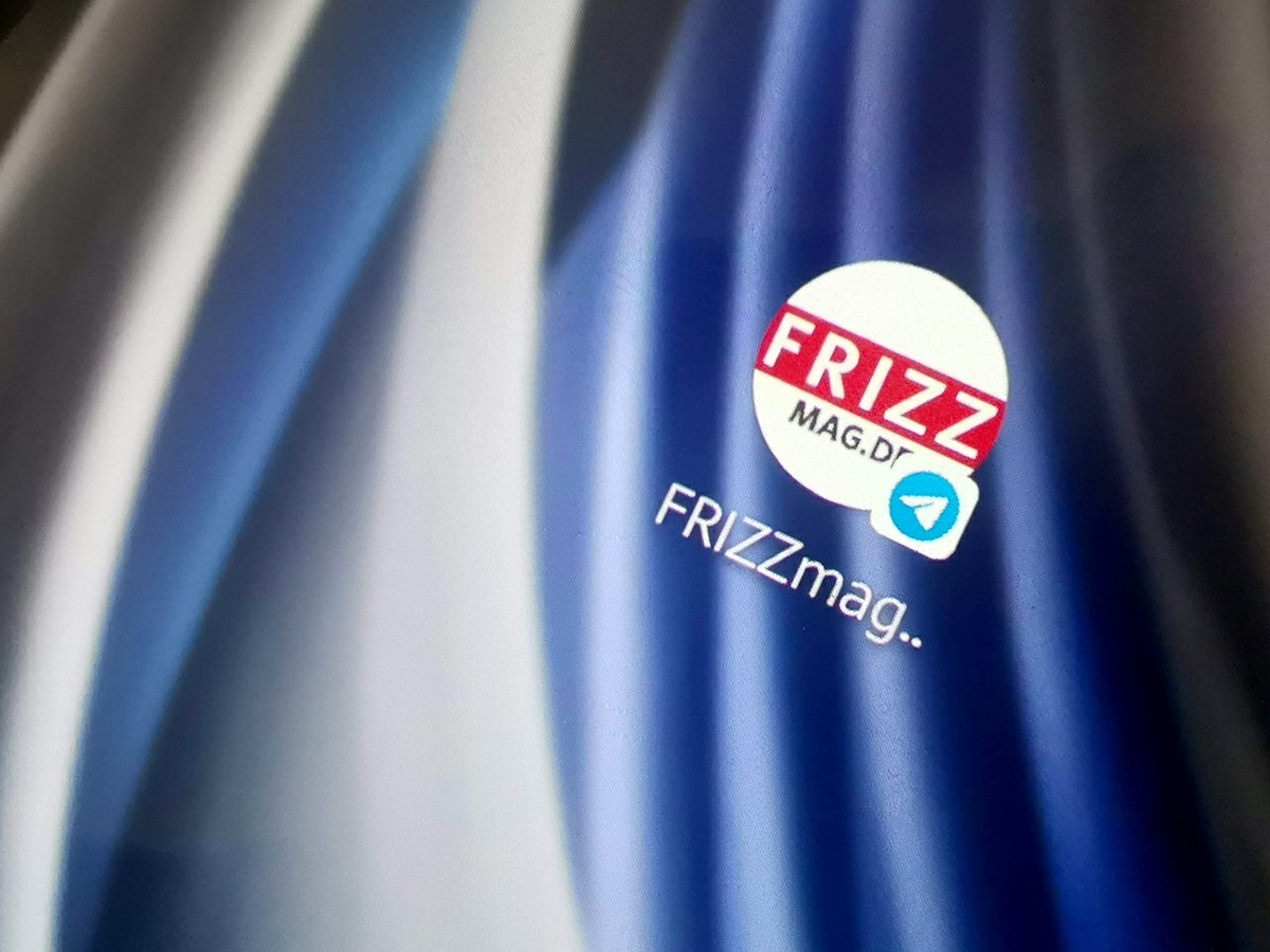 FRIZZ Messenger Newsleter auf Telegram