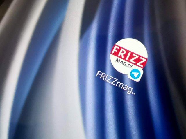 FRIZZ Messenger Newsleter auf Telegram