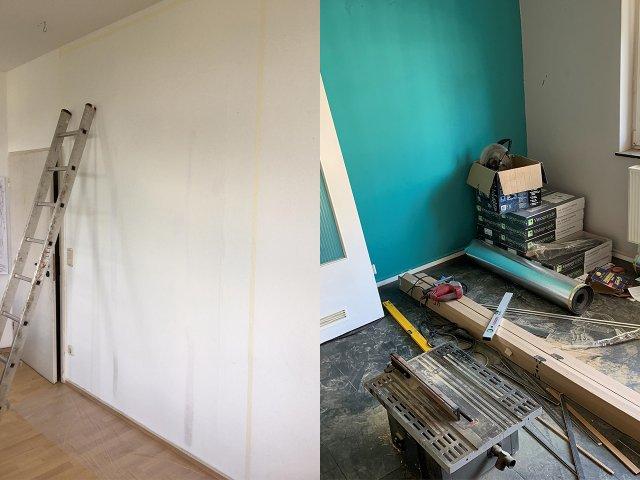 Baustelle im Haus