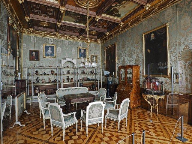 Grüner Salon im Schloss Erbach