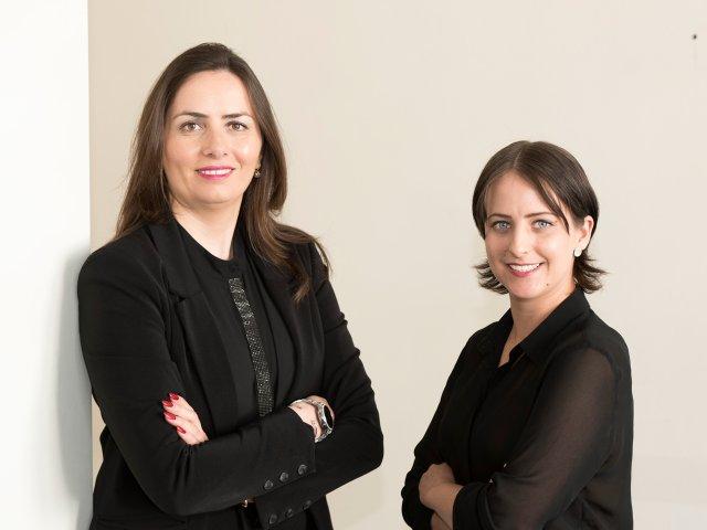Narine Hovhannisyan und Josephine Adler
