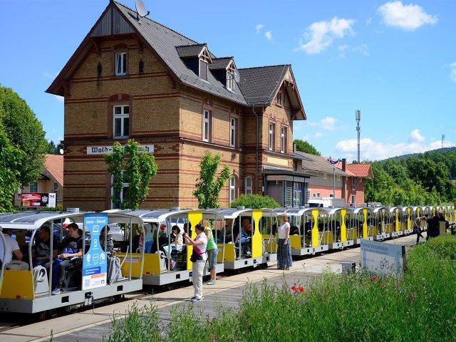 Die Überwaldbahn
