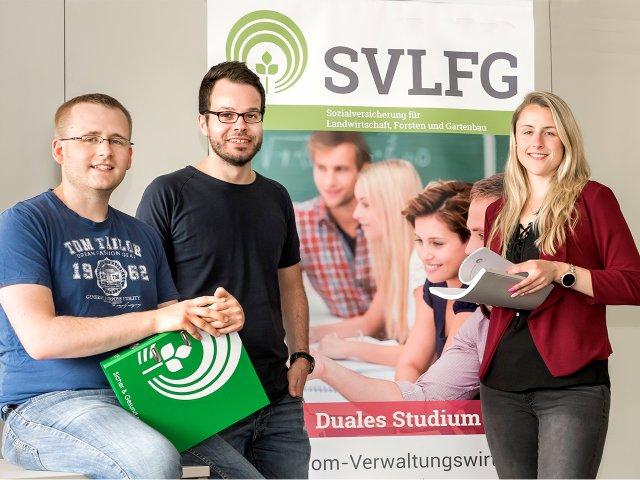 Duales Studium bei der SVLFG