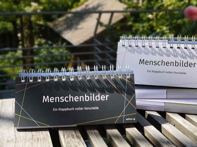 Menschenbilder Klappbuch von Christoph Grundmann