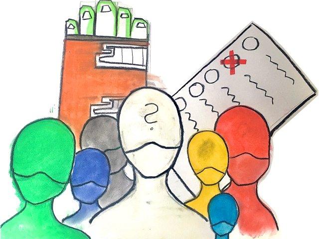Illustration zur Kommunalwahl 2021