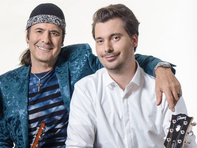 Marcel Adam mit Yann Loup