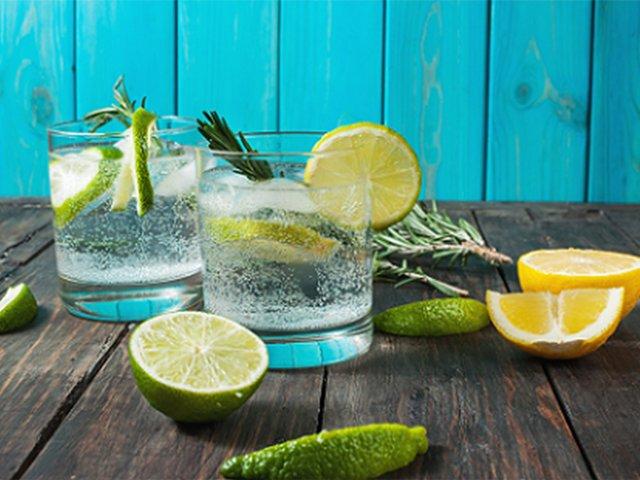 Sommerliches Gin-Tasting