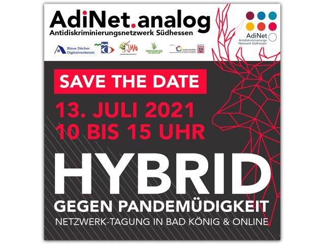 Netzwerk-Tagung AdiNet.analog 2021