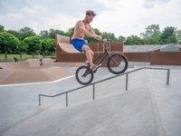 Neue BMX-Anlage im Bürgerpark