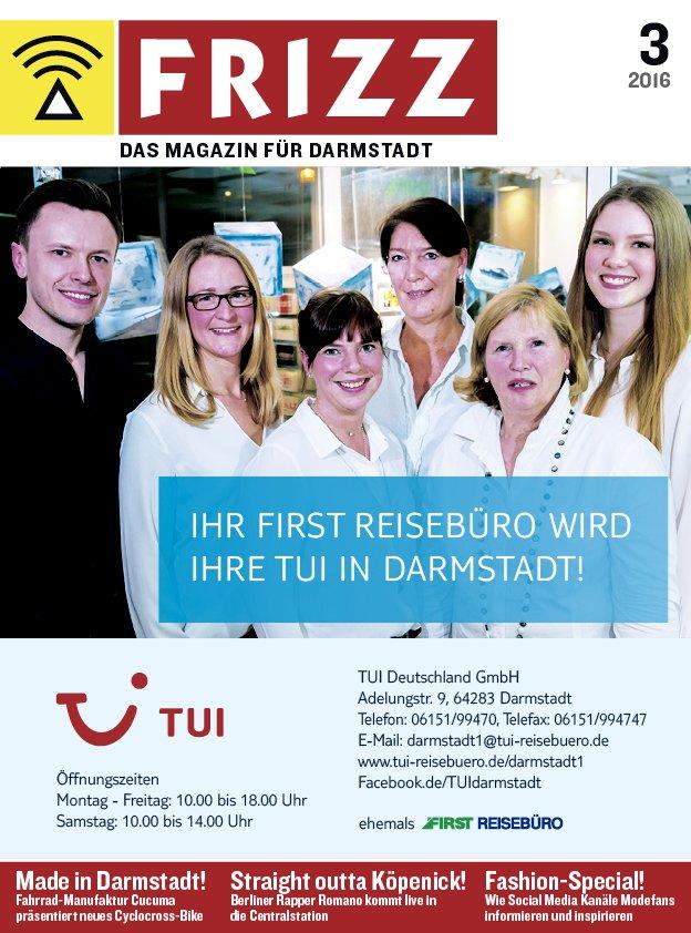 FRIZZ - Das Magazin für Darmstadt - 03 / 2016 - Ausgabe 396