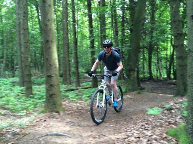 Mountainbike Odenwald Frankenstein