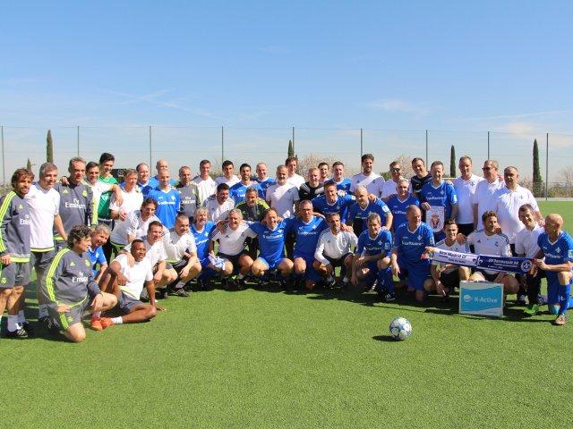 Lilien Traditionsmannschaft & Real Madrid Veteranos