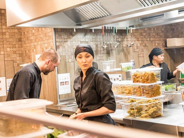COA offene Küche