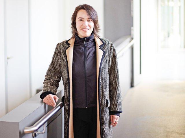 """Sabine Hopp, Leiterin des Projekt """"Handicap"""""""