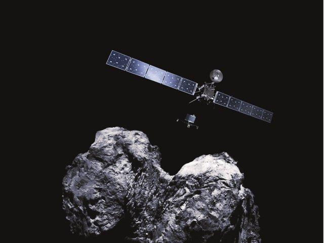 Sonde Rosetta Reise