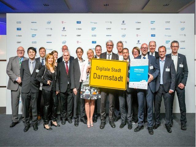 Digital Stadt Darmstadt
