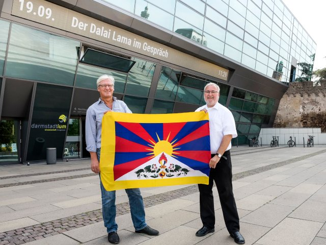 Tibet Initiative Deutschland Dalai Lama Wolfgang Grader OB Jochen Partsch darmstadtium