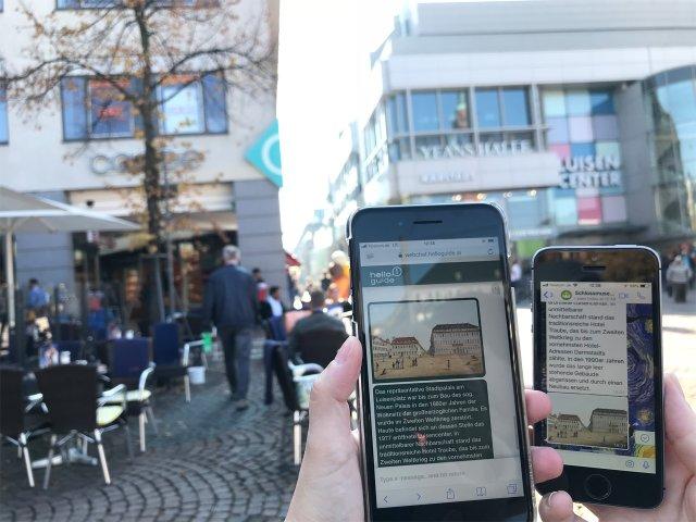 Das alte Darmstadt digital