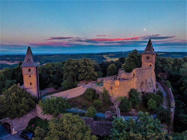 Gala-Abend, Burg Frankenstein
