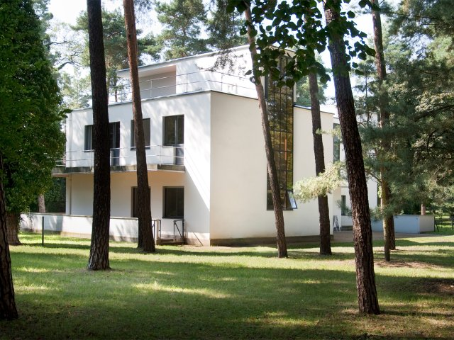 Bauhaus-Architektur in Dessau