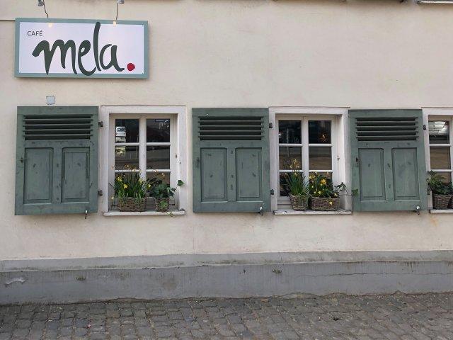 Café Mela von außen