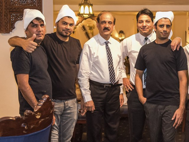 Lahore Palace Crew
