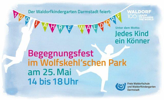 """Aktionstag Waldorf 100 """"Jedes Kind ein Könner"""""""